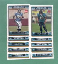 2006 Topps Jacksonville Jaguars Football Team Set - $3.00