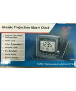 AcuRite - 13239A1 - Atomic Projection Clock with Indoor Temperature - $39.55