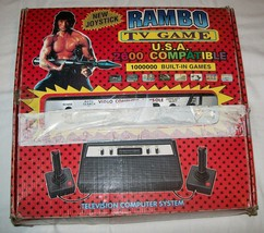 Rambo TV Games Atari 2600 Clone legendary TV console 1.000.000 Games #02 - $99.00