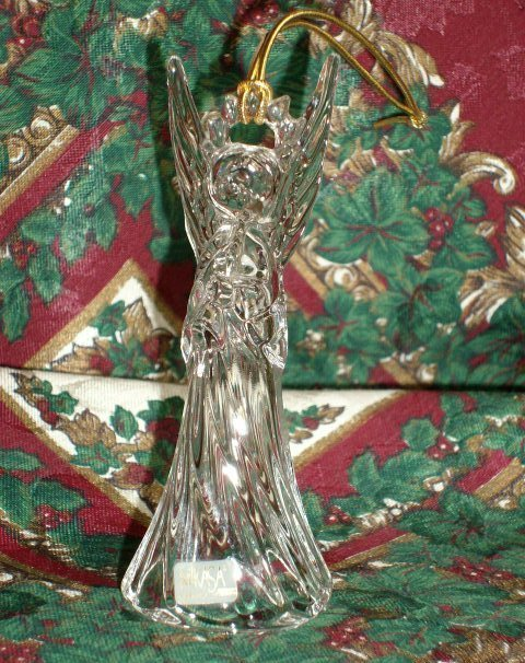 "MIKASA ""TRUMPETING ANGEL"" CHRISTMAS ORNAMENT - Brand New!"