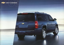 2008 Chevrolet SUBURBAN sales brochure catalog US 08 Chevy LT LTZ - $8.00