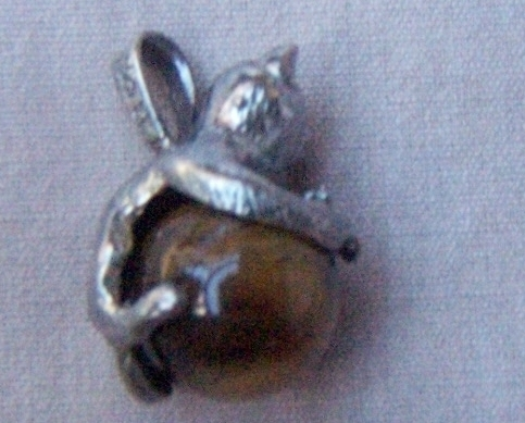 Charm  Kitty  Cat  Sterling  Cats Eye  Globe  New