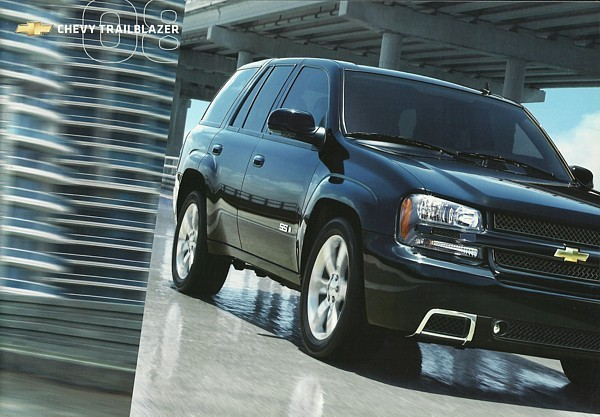 2008 Chevrolet TRAILBLAZER sales brochure catalog US 08 Chevy LT SS