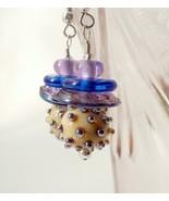 "Handmade earrings - futuristic, fun, funky. ""Celestial II"".  - $33.00"