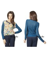 Missoni for Target M V-Neck Combo Chiffon Sweat... - $99.00
