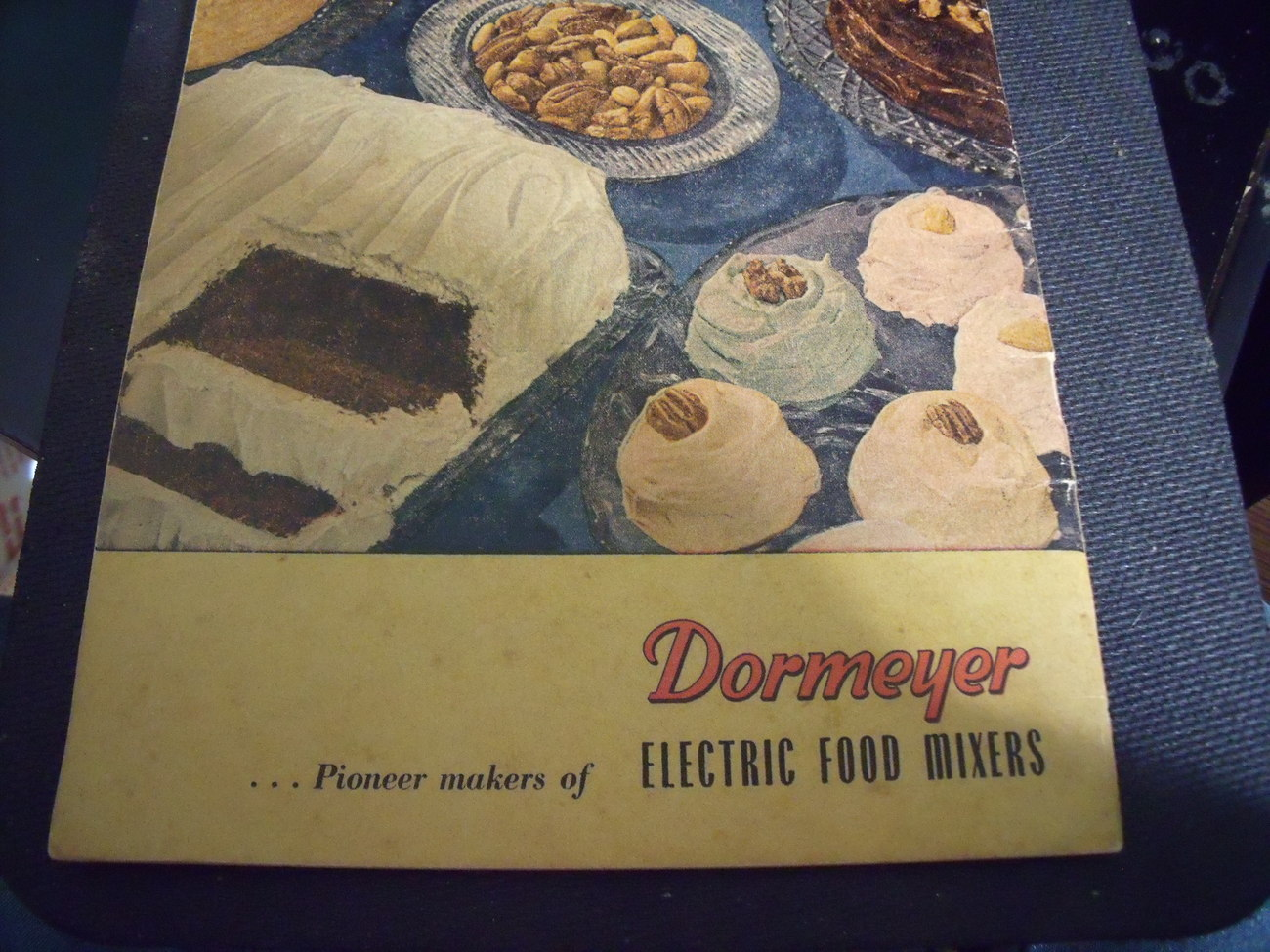 Dormeyer All Electric Mix Cookbook from 1946