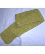 Bellissimo lungo 196cmx17.8cm 195x17.7cm Verde Cucito a Mano Caldo Inverno - $10.74