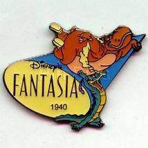 Disney Fantasia Gator &  Hippo dated 1940 Pin/Pins - $12.43