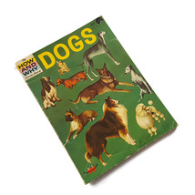 Vintage The How And Why Wonder Book Of Dogs 1962 Wonder Book Craft Collage - $9.85