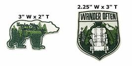 Wander Often Wander Always and Wander Often National Park Series 2-Pack Embroide - $7.89
