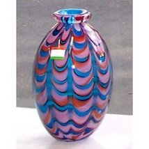Murano Art Glass Vase - Retails $230 - $162.00