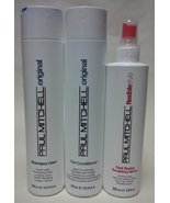 Paul Mitchell Shampoo One, the Conditioner and Fast Drying Sculpting Spr... - $23.99