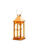 Rose Gold Wooden Lantern - $33.69
