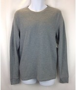 PUBLIC OPINION Mens Heather Grey Long Sleeve Shirt M - $31.44