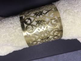 100pcs Laser Cut Napkin Ring,Metallic Paper Napkin Rings for Wedding Decoration - $34.00