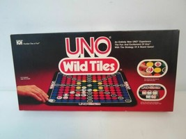 UNO Wild Tiles Board Game By International Games Complete Vintage 1984      - $14.85