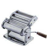 Imperia Pasta Maker Machine - Heavy Duty Steel Construction w Easy Lock ... - £78.90 GBP