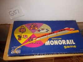 Disneyland Monorail Game, Parker Brothers - $19.99