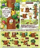 New Pokemon Forest Full 8 piece Mini Figure Pocket Monster Japan - $79.46