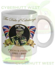 Prince Philip Duke of Edinburgh Commemorative Coffee Mug - $14.84+