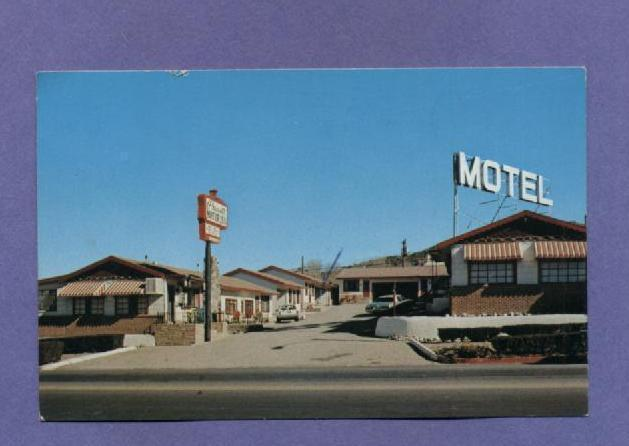 1980s Vintage Postcard Prescott Motor Inn Arizona
