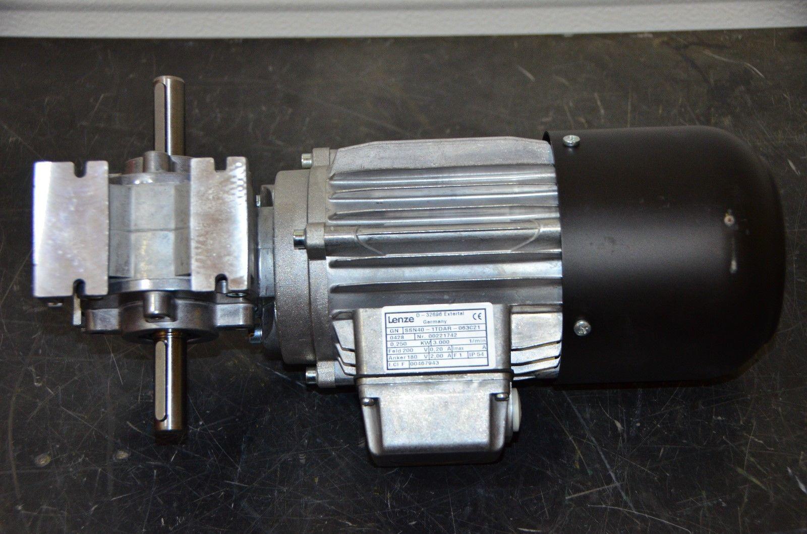 Lenze 0 25 KW I= 80 Gearmotor SSN40-1FDAR and 14 similar items