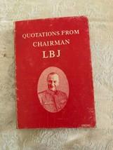 Citas De Presidente Lbj Libro en Rústica 1968 Fifth Impresión Tapa Blanda - $9.41