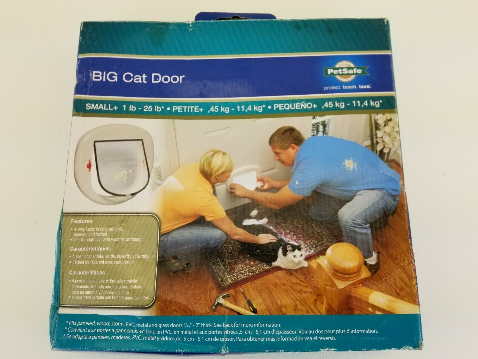 PetSafe Big Cat Door (Up to 25 Pounds)   HPA11-110888 - $28.12