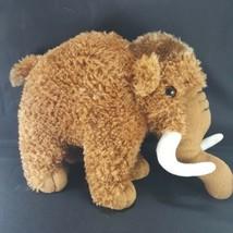 "Brown Woolly Mammoth Elephant 10"" Snowy & Friends Soft Plush Stuffed Animal - $14.84"