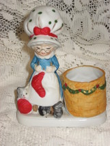 Luvkins #15 - Mrs. Claus-Christmas Figurine-Toothpick Holder-1978 - $8.00