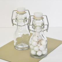 50 DIY Blank Mini Glass Swing Top Bottle Birthday Bridal Wedding Favor - $66.45