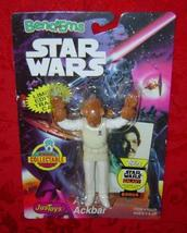 Star Wars Admiral Ackbar Bend-Ems Just Toys 1994  Lando card - $9.00