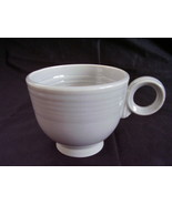Vintage Fiestaware Gray Ring Handled Coffee Cup... - $14.40