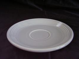 Vintage Fiestaware Gray Grey Teacup Saucer Fies... - $12.00