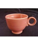 Vintage Fiestaware Rose Teacup Coffee Cup Fiest... - $36.45