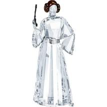 Swarovski Collection Wars Figurine Of Crystal of The Princess Leia Colou... - $680.35