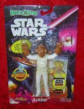 Star Wars Admiral Ackbar Bend-Ems Just Toys 1994   - $9.00