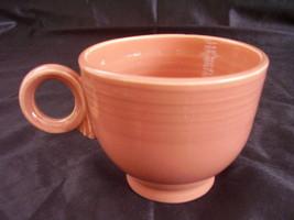 Vintage Fiestaware Rose Teacup Coffee Cup Fiesta  A - $20.74