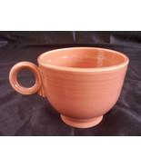 Vintage Fiestaware Rose Teacup Coffee Cup Fiest... - $20.74