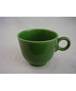 Vintage Fiestaware Medium Green Ring Handle Tea... - $65.00