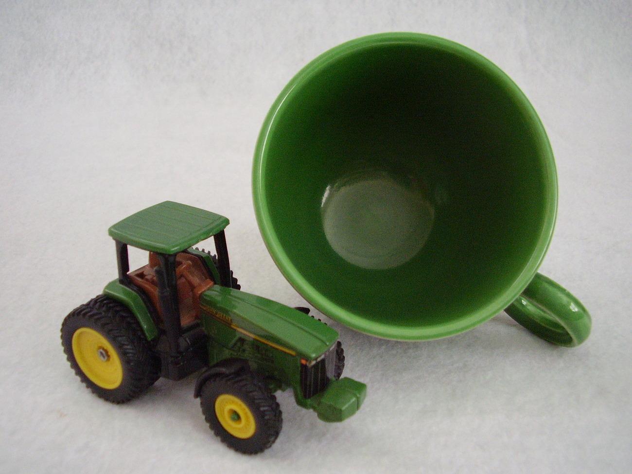 Vintage Fiestaware Medium Green Ring Handle Teacup Fiesta  C