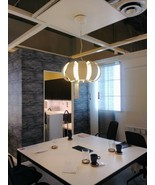 "IKEA STOCKHOLM Pendant lamp, white Diameter 22"" - $120.32"