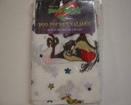 Window Treatment Valance Curtain Bugs Bunny Taz - $15.00