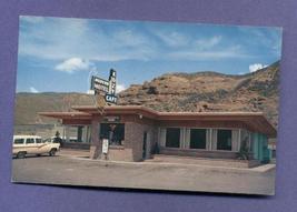 Vintage 1950s Postcard Kozy Cafe Motel Echo Utah Old Cars Station Wagon Unused - $4.99