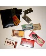 Lot of Vintage RAZOR BLADES - GEM, Gillette, Pe... - $12.00