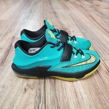 Nike KD VII 7 Boys Youth Size 4 Teal Basketball Shoes - $44.55