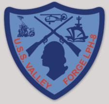 US Navy USS Valley Forge LPH-8 Sticker - $9.89