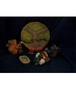 Cherished Moments Tea Time Collection Mini Tea Set by Artistic Flair - 1995 - $35.00