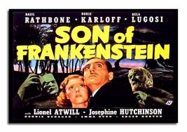 Boris Karloff Son of Frankenstein Cover 8x12 Inch Aluminum Sign - $14.80