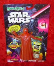 Star Wars Emperor's Royal Guard Bend-Ems Just Toys 1994 ship - $9.00